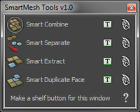 Free SmartMesh Tools for Maya 1.1.0 (maya script)