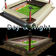 Stadium Level 4 Day&Night 3D Model