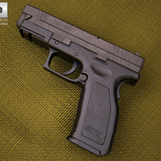 Springfield Armory XD (HS2000) 4 inch 3D Model