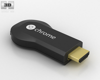 Google Chromecast 3D Model