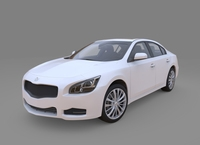 Generic car High detailed 3D Model
