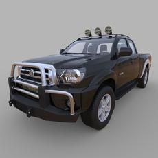 Generic Pickup Truck 3D Model