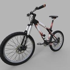 Generic mountain bike 3D Model