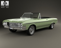 Buick Skylark convertible 1964 3D Model
