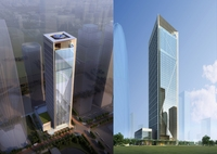 Skyscraper Office Building 002 3D Model