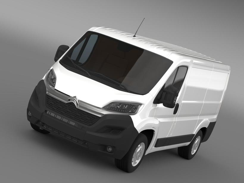 Citroen Jumper Van L1H1 2015 3D Model