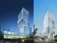 Skyscraper Office Building 017 3D Model