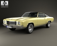 Chevrolet Monte Carlo 1972 3D Model