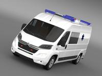Citroen Jumper Ambulance 2015 3D Model