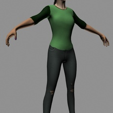 Woman for 3dsmax 1.0.0