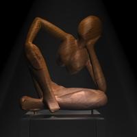 Free African sculpture 3D Model
