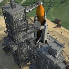 NASA Kennedy Space Center 39B 3D Model