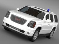GMC Denali FBI 3D Model