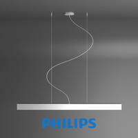 Free Lamp pendants aluminium 1x28W Philips 3D Model