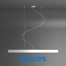 Lamp pendants aluminium 1x28W Philips 3D Model