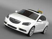 Opel Insignia Taxi 3D Model