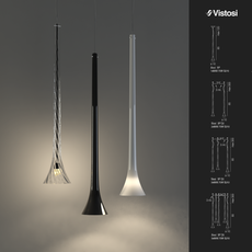 Sissi Pendant Light 3D Model