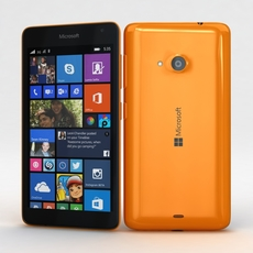 Microsoft Lumia 535 and Dual SIM Orange 3D Model