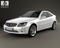 Mercedes-Benz CLC-Class (CL203) 2008 3D Model