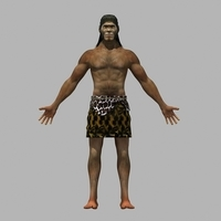 The ape man 3D Model