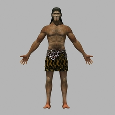 The ape man 3D Model