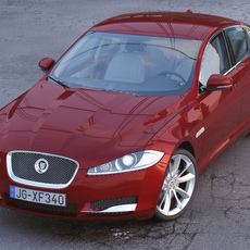Jaguar XF 2013 3D Model