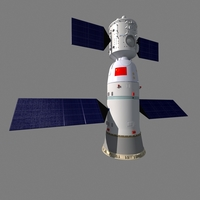 Shenzhou spaceship 3D Model