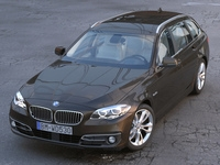 BMW 5 series Touring 2014 3D Model