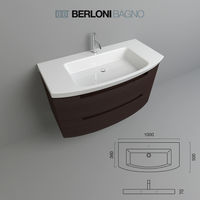 Berloni Bagno Moon from BERLONI BAGNO 3D Model