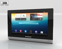 Lenovo Yoga Tablet 10 3D Model