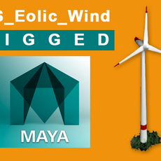 eolic_wind_0.6 rigged 3D Model