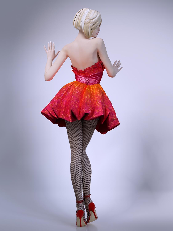 Model system beautiful woman - 3 2
