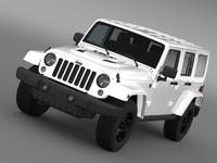 Jeep Wrangler Unlimited X 2015 3D Model