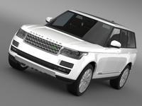 LandRover RangeRover HSE Td6 2015 3D Model