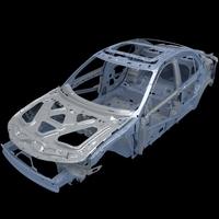 Car Frame 01 3D Model