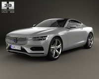 Volvo Concept Coupe 2013 3D Model