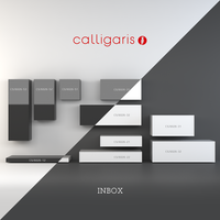 Free Storage system INBOX from Calligaris 3D Model
