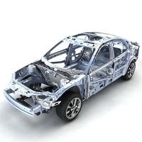 Car Frame 03 3D Model