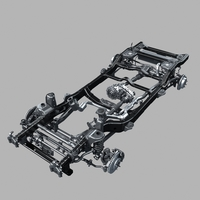 Car chassis 01 3D Model