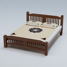 Bed Cot 03 3D Model