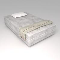 Bed Cot 05 3D Model