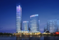 Skyscraper Office Building 024 3D Model