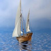Ship 3D Model