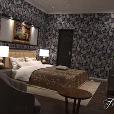 Bedroom 01 3D Model