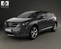 Toyota Venza 2012 3D Model