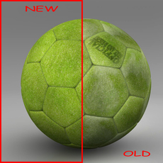 Soccerball indoor 3D Model