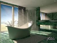 Bathroom 49 3D Model