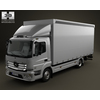 16 22 00 919 mercedes benz atego  mk3  823  box truck 2axis 2013 480 0001 4