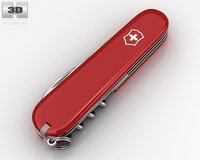 Victorinox Swiss Army Knife Spartan 3D Model