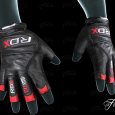 Weight lifting gloves 3D Model